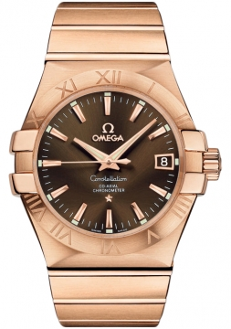 Omega Constellation Co-Axial Automatic 35mm Mens watch, model number - 123.50.35.20.13.001, discount price of £13,896.00 from The Watch Source