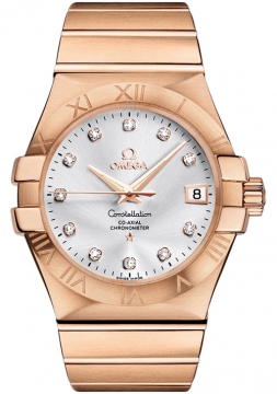 Omega Constellation Co-Axial Automatic 35mm Mens watch, model number - 123.50.35.20.52.001, discount price of £14,796.00 from The Watch Source