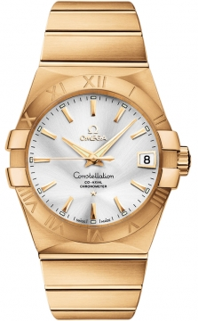 Omega Constellation Co-Axial Automatic 38mm Mens watch, model number - 123.50.38.21.02.002, discount price of £16,930.00 from The Watch Source