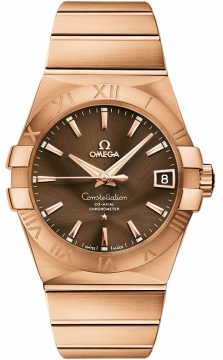 Omega Constellation Co-Axial Automatic 38mm Mens watch, model number - 123.50.38.21.13.001, discount price of £18,900.00 from The Watch Source