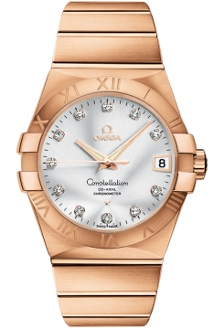Buy this new Omega Constellation Co-Axial Automatic 38mm 123.50.38.21.52.001 mens watch for the discount price of £20,016.00. UK Retailer.