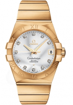 Omega Constellation Co-Axial Automatic 38mm Mens watch, model number - 123.50.38.21.52.002, discount price of £20,016.00 from The Watch Source