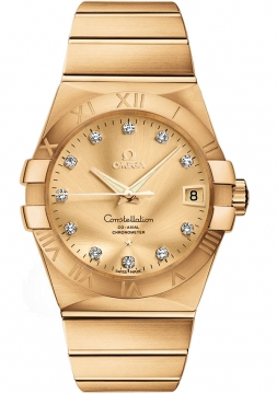 Omega Constellation Co-Axial Automatic 38mm Mens watch, model number - 123.50.38.21.58.001, discount price of £17,935.00 from The Watch Source