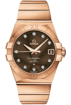 Omega Constellation Co-Axial Automatic 38mm Mens watch, model number - 123.50.38.21.63.001, discount price of £20,016.00 from The Watch Source