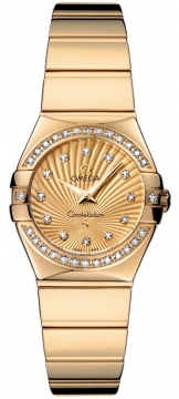 Buy this new Omega Constellation Polished 24mm 123.55.24.60.58.002 ladies watch for the discount price of £11,019.00. UK Retailer.