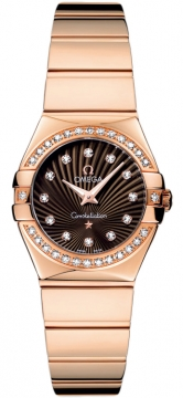 Omega Constellation Polished 24mm Ladies watch, model number - 123.55.24.60.63.002, discount price of £9,540.00 from The Watch Source