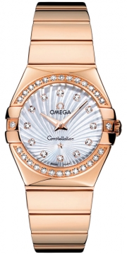 Buy this new Omega Constellation Polished 27mm 123.55.27.60.55.005 ladies watch for the discount price of £11,556.00. UK Retailer.