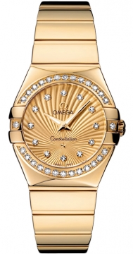 Omega Constellation Polished 27mm 123.55.27.60.58.002 watch