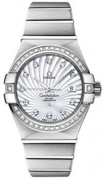 Omega Constellation Co-Axial Automatic 31mm Ladies watch, model number - 123.55.31.20.55.003, discount price of £17,770.00 from The Watch Source