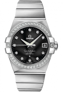 Omega Constellation Co-Axial Automatic 38mm Mens watch, model number - 123.55.38.21.51.001, discount price of £26,028.00 from The Watch Source