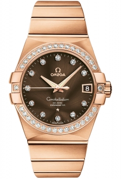 Buy this new Omega Constellation Co-Axial Automatic 38mm 123.55.38.21.63.001 mens watch for the discount price of £24,444.00. UK Retailer.