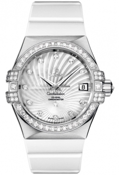 Omega Constellation Co-Axial Automatic 35mm Ladies watch, model number - 123.57.35.20.55.005, discount price of £14,072.00 from The Watch Source
