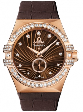 Omega Constellation Co-Axial Automatic 35mm Ladies watch, model number - 123.58.35.20.63.001, discount price of £13,600.00 from The Watch Source