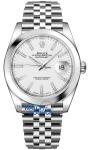 Rolex Datejust 41mm Stainless Steel 126300 White Index Jubilee watch