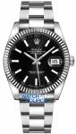 Rolex Datejust 41mm Stainless Steel 126334 Black Index Oyster watch