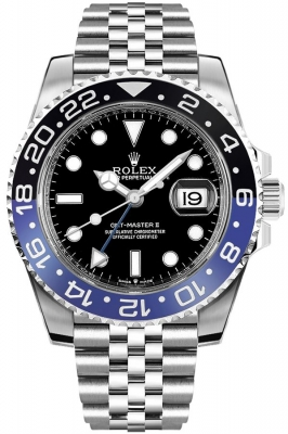 Rolex GMT Master II 126710blnr watch