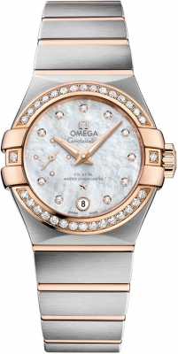 Buy this new Omega Constellation Co-Axial Automatic Small Seconds 27mm 127.25.27.20.55.001 ladies watch for the discount price of £7,452.00. UK Retailer.