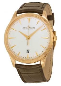Jaeger LeCoultre Master Ultra Thin Date Automatic 40mm Mens watch, model number - 1282510, discount price of £10,030.00 from The Watch Source