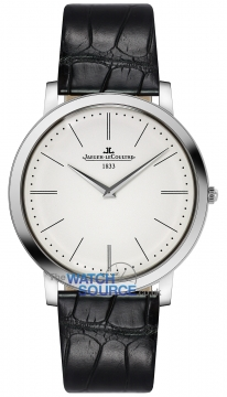 Jaeger LeCoultre Master Ultra Thin Jubilee Manual Mens watch, model number - 1296520, discount price of £11,704.00 from The Watch Source