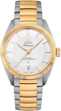 Buy this new Omega Globemaster 39mm 130.20.39.21.02.001 mens watch for the discount price of £7,200.00. UK Retailer.