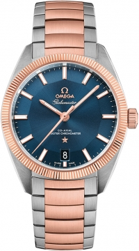Buy this new Omega Globemaster 39mm 130.20.39.21.03.001 mens watch for the discount price of £7,200.00. UK Retailer.