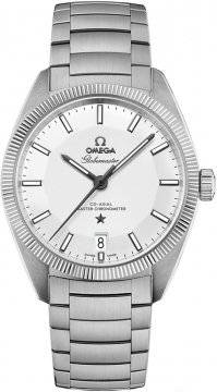 Buy this new Omega Globemaster 39mm 130.30.39.21.02.001 mens watch for the discount price of £4,403.00. UK Retailer.
