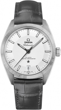 Buy this new Omega Globemaster 39mm 130.33.39.21.02.001 mens watch for the discount price of £4,536.00. UK Retailer.
