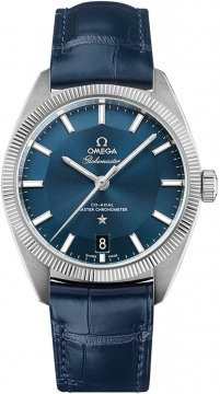 Buy this new Omega Globemaster 39mm 130.33.39.21.03.001 mens watch for the discount price of £4,536.00. UK Retailer.