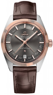 Buy this new Omega Globemaster Annual Calendar 41mm 130.23.41.22.06.001 mens watch for the discount price of £7,056.00. UK Retailer.