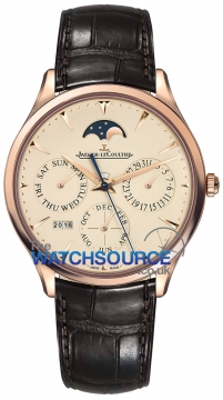Jaeger LeCoultre Master Ultra Thin Perpetual Mens watch, model number - 1302520, discount price of £17,680.00 from The Watch Source