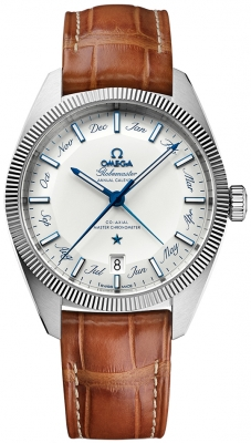 Buy this new Omega Globemaster Annual Calendar 41mm 130.33.41.22.02.001 mens watch for the discount price of £5,616.00. UK Retailer.