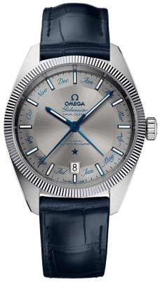 Buy this new Omega Globemaster Annual Calendar 41mm 130.33.41.22.06.001 mens watch for the discount price of £5,616.00. UK Retailer.