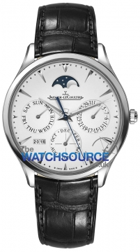 Jaeger LeCoultre Master Ultra Thin Perpetual Mens watch, model number - 1303520, discount price of £21,420.00 from The Watch Source