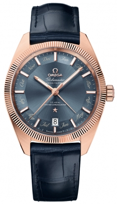 Buy this new Omega Globemaster Annual Calendar 41mm 130.53.41.22.03.001 mens watch for the discount price of £15,480.00. UK Retailer.