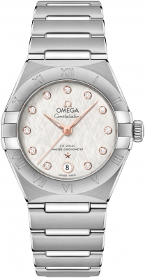 Omega Constellation Co-Axial Master Chronometer 29mm 131.10.29.20.52.001 watch