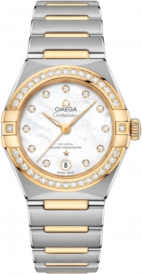 Omega Constellation Manhattan Co-Axial Master Chronometer 29mm 131.25.29.20.55.002 watch