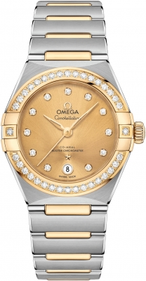 Omega Constellation Co-Axial Master Chronometer 29mm 131.25.29.20.58.001 watch