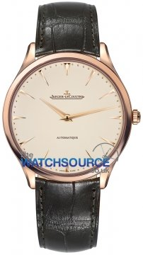 Jaeger LeCoultre Master Ultra Thin Automatic 41mm Mens watch, model number - 1332511, discount price of £9,430.00 from The Watch Source