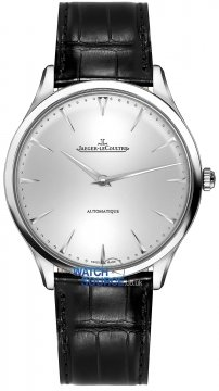 Jaeger LeCoultre Master Ultra Thin Automatic 41mm Mens watch, model number - 1338421, discount price of £5,397.00 from The Watch Source