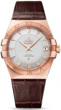 Buy this new Omega Constellation Co-Axial Automatic 38mm 123.53.38.21.02.001 mens watch for the discount price of £14,904.00. UK Retailer.