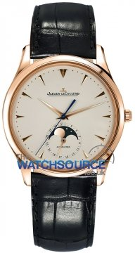 Jaeger LeCoultre Master Ultra Thin Moon 39mm Mens watch, model number - 1362520, discount price of £11,150.00 from The Watch Source