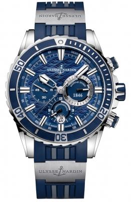 Ulysse Nardin Marine Diver Chronograph Manufacture 44mm 1503-151-3/93 watch