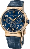 Ulysse Nardin Marine Chronograph Manufacture 43mm 1506-150/63 watch