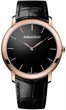 Audemars Piguet Jules Audemars Ultra Thin Automatic Mens watch, model number - 15180or.oo.a002cr.01, discount price of £17,974.00 from The Watch Source