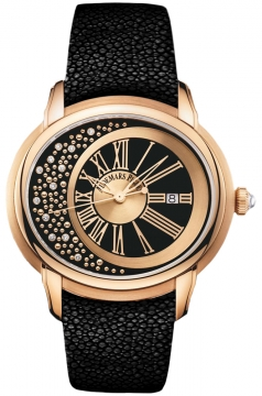 Audemars Piguet Millenary Automatic MORITA Midsize watch, model number - 15331or.oo.d001ga.01 Morita, discount price of £39,352.00 from The Watch Source