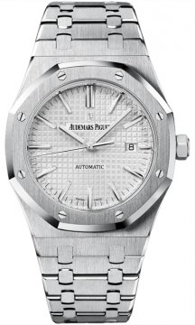 Audemars Piguet Royal Oak Automatic 41mm Mens watch, model number - 15400st.oo.1220st.02, discount price of £12,870.00 from The Watch Source