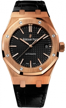 Audemars Piguet Royal Oak Automatic 37mm Midsize watch, model number - 15450or.oo.d002cr.01, discount price of £21,735.00 from The Watch Source
