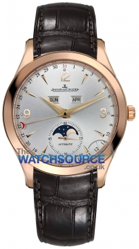 Jaeger LeCoultre Master Calendar 39 Mens watch, model number - 1552520, discount price of £14,500.00 from The Watch Source