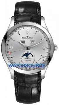 Jaeger LeCoultre Master Calendar 39 Mens watch, model number - 1558420, discount price of £6,270.00 from The Watch Source