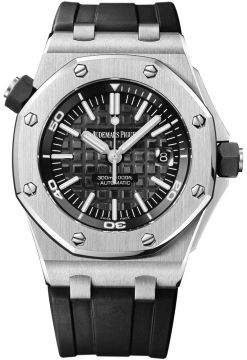 Audemars Piguet Royal Oak Offshore Diver Mens watch, model number - 15703st.oo.a002ca.01, discount price of £13,770.00 from The Watch Source